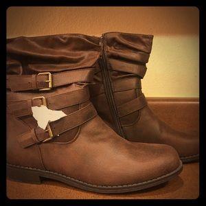 JustFab Harriet boots